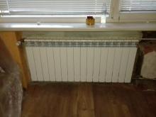 смяна радиатор в помещение