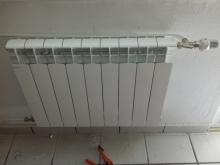 алуминиев радиатор монтаж