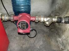 поставяне на помпа за отопление