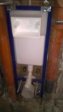 структура за тоалетна