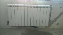 прокарване тръби за радиатор