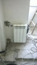 малък радиатор - пълен монтаж