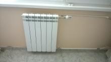 монтаж на радиатор с прокарани тръби